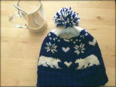 Ravelry: Polar Bear Love Hat pattern by caeli .