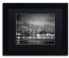 New York Skyline by Preston Framed Photographic Print