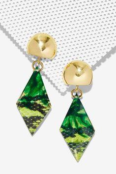 Boa Drop Earrings