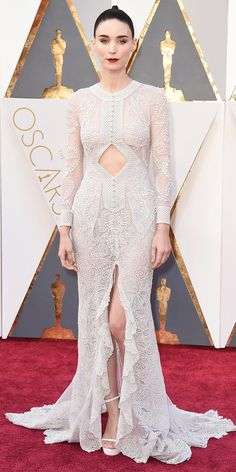 Academy Awards 2016: Rooney Mara in Givenchy Haute Couture by Riccardo Tischi.