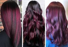 63 Hot Red Hair Color Shades to Dye for: Red Hair Dye Tips & Ideas Red Ombre Hair, Dyed Red Hair, Violet Hair, Magenta Hair Colors, Bright Red Hair, Dyed Tips, Hair Dye Tips, Cherry Red Hair, Shades Of Red Hair
