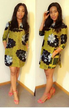 Ankara Styles for Ladies: Check out this Creative Ankara Styles Collections African Dresses For Women, African Print Dresses, African Attire, African Wear, African Women, African Prints, African Style, African Inspired Fashion, African Print Fashion