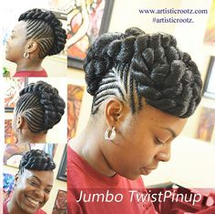 hairstyles on yourself hairstyles in two hairstyles pakistani hairstyles natural for braided hairstyles hairstyles girl hairstyles going back braided hairstyles Black Girl Braids, Braids For Black Hair, Girls Braids, Big Braids, African Braids Hairstyles, Cool Hairstyles, Black Braided Hairstyles Updos, Natural Updo Hairstyles, Hairstyles Videos
