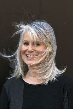 gorgeous gray hair hairstyles for beautiful women | yooand.