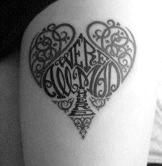 We're all mad here tattoo - can't say I would ever get this tattoo but I love the design!