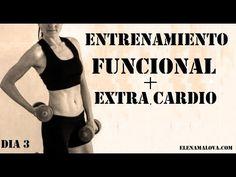 Entrenamiento FUNCIONAL + Extra cuerda cardio | Día 3 #mega5semanas - YouTube