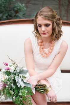 To reflect the chilly beauty of Seattle in early spring, this bridal party combined the freshness of new blooms with the cozy warmth of a hot cup of tea. Early Spring, Spring Time, Party Hairstyles, Wedding Hairstyles, Bridal Shower Tea, Pacific Northwest, Tea Party, Hair Makeup, Celebrities