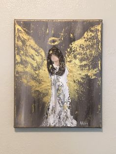 Angel Painting, Angel Art, Guardian angel, Angel Wings, gift – Hobbies paining body for kids and adult Easter Paintings, Christmas Paintings, Acrylic Paintings, Christmas Art, Angel Paintings, Angel Wings Painting, Angel Art, Painting Edges, Knife Painting