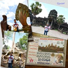 Pictorial tour of Angkor Wat…