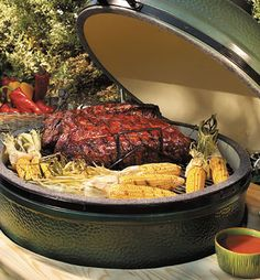 It's what you use to cook your meal:  Big Green Egg Canada...makes the best turkey you will ever have!