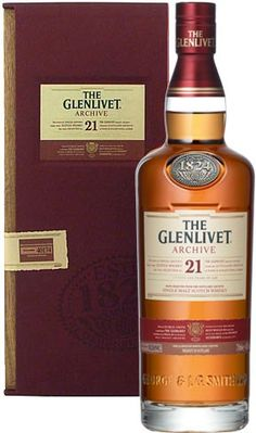 The Glenlivet Archive 21 Year Old Single Malt Scotch Whisky | @Caskers