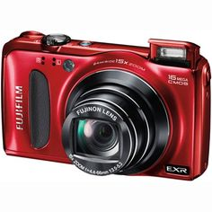 """Fujifilm Finepix F660EXR 16.0 MP CMOS 1080P HD Digital Camera (Red). Sharp 16Mp Stills Even in Low Light. Back Side Illuminated EXR CMOS Sensor. EXR Core Processor & EXR Auto Settings. Capture Full HD 1920 x 1080/30p Video. Color TFT 3.0"""" LCD Display & 25MB Memory. SD/SDHC/SDXC Memory Card Expansion Slot. Quality Fujinon 15x Optical Zoom Lens. Face Tracking Auto Focus & Auto Flash. Advanced Anti Blur & Scene Recognition."""