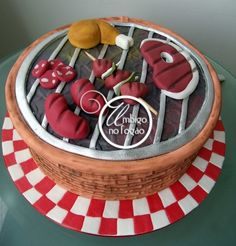 What a great BBQ cake - Sweet meat? www.baco.co.uk