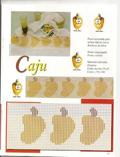 Fabinha Gráficos Para Bordados: Ponto Oitinho Swedish Weaving, Types Of Embroidery, Needlework, Kids Rugs, Fabric, Pattern, Cross Stitch, Facebook, Cd Crafts