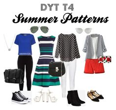 """""""Dressing Your Truth Type Four Summer Patterns"""" by thewonderways on Polyvore featuring New Look, Steilmann, WithChic, Dickins & Jones, Mountain Khakis, Converse, Billini, Accessorize, River Island and Ray-Ban"""