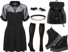 Gothic wardrobe from scratch