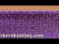Crochet Bind Off in Knitting Tutorial 7 Method 7 of 12 Different Bind-offs - YouTube
