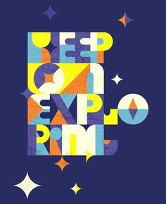 keep on exploring!