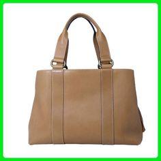 Teresa Calfskin Leather Shoulder Bag Handbag Made in Italy by Aldo Lorenzi - Top handle bags (*Amazon Partner-Link)
