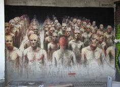 STREET ART UTOPIA » We declare the world as our canvasStreet Art by Borondo in Paris, France » STREET ART UTOPIA