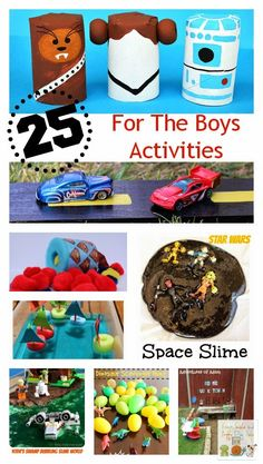 25 For The Boys Activities {kids co-op 7-10} - FSPDT