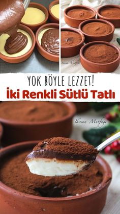 Baby Food Recipes, Great Recipes, Cooking Recipes, Good Food, Yummy Food, Delicious Deserts, Turkish Recipes, Desert Recipes, Chocolate Desserts