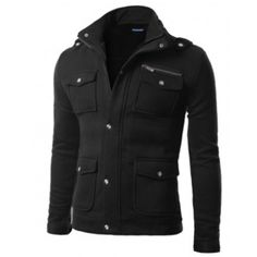 Mens jacket DOUBLJU. Like this simple chunky style. SOft texture good. Different colour would be good eg burnt orange.