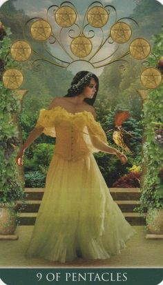 Card of the Day – 9 of Pentacles – Wednesday, November 8, 2017 « Tarot by Cecelia