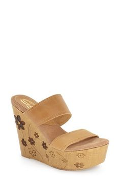 Sbicca 'Pippa' Wedge Sandal (Women)