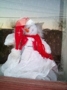 SNOWMAN CHRITSMAS  TREE TOPER