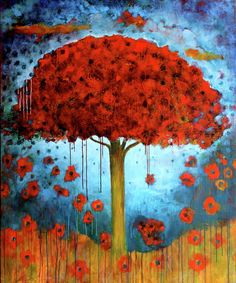 My Tree Painting  - My Tree Fine Art Print (Betty O'Hare)