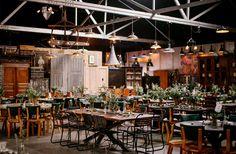 LA wedding venue. Industrial wedding venue. Los Angeles Wedding. Big Daddys Antiques Wedding Photo by loveisabigdeal.com