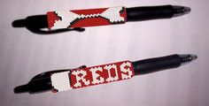 Looking for your next project? You're going to love Cincinnati Reds G2 Pilot Pen Cover  by designer Debby in Clearwater.