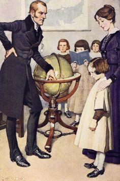 Jane Eyre Monro S. Jane Eyre, Vintage Books, Vintage Art, 19th Century England, Bronte Sisters, Charlotte Bronte, Vintage Children, My Best Friend, Illustrators