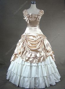 Unique, Elegant Designer Girl Champagne Sleeveless Gothic Victorian Dress for Full Selection of gothic victorian lolita dresses, Tailor Made, Fast Shipping. Buy Girl Champagne Sleeveless Gothic Victorian Dress Now! Victorian Corset Dress, Gothic Victorian Dresses, Victorian Ball Gowns, Gothic Lolita Dress, Victorian Fashion, Gothic Gowns, Victorian Costume, Renaissance Costume, Victorian Era