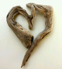 "Driftwood Art by Mother Nature. Titled: ""Shape My Heart""… I Love Heart, With All My Heart, Happy Heart, Driftwood Projects, Driftwood Art, Heart In Nature, Heart Art, Deco Nature, Nature Nature"