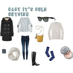 baby its cold outside by neelykins, via Polyvore