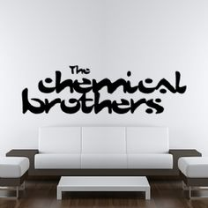 The Chemical Brothers Logo Wall Art