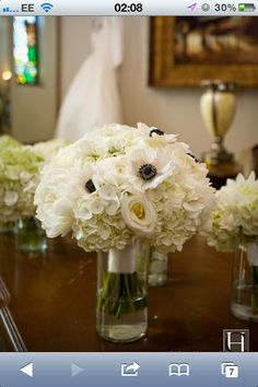 Peonies, avalanche roses and hydrangeas