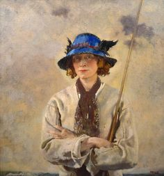 The Angler by Sir William Orpen, 1912