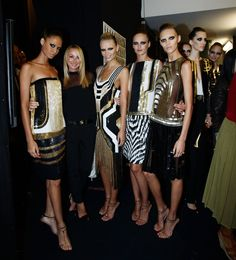 Backstage: Gucci S/S 2012 MFW