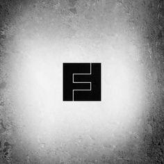 FF monogram typographic logo