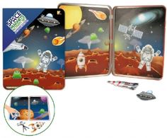 Keycraft | Crafts & Activities | Space Magnets Activity Tin Set