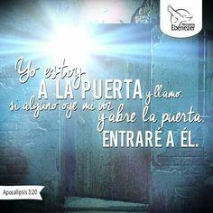 Apocalipsis 3:20 #Biblia #MinisteriosEbenezer