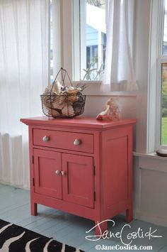 Coastal Living...Coral Chest and Vignette...Jane Coslick
