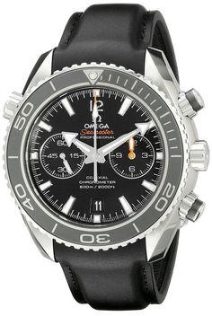 45cb665ed03 Omega Men s 23232465101003 Analog Display Swiss Automatic Black Watch
