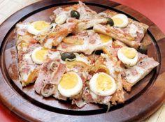 Pizza de P�o de Forma R�pida - Veja mais em: http://www.cybercook.com.br/pizza-de-pao-de-forma.html?codigo=3008