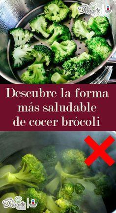 forma correcta de cocinar brocoli | CocinaDelirante