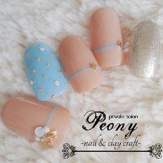 elegant nail design☆