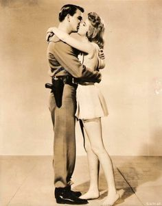 promo shot of american actors leslie nielsen and anne francis from the 1956 sci-fi film forbidden planet. Leslie Nielsen, Anne Francis, Sci Fi Films, First Tv, The Old Days, Famous Men, American Actors, Science Fiction, Tv Series